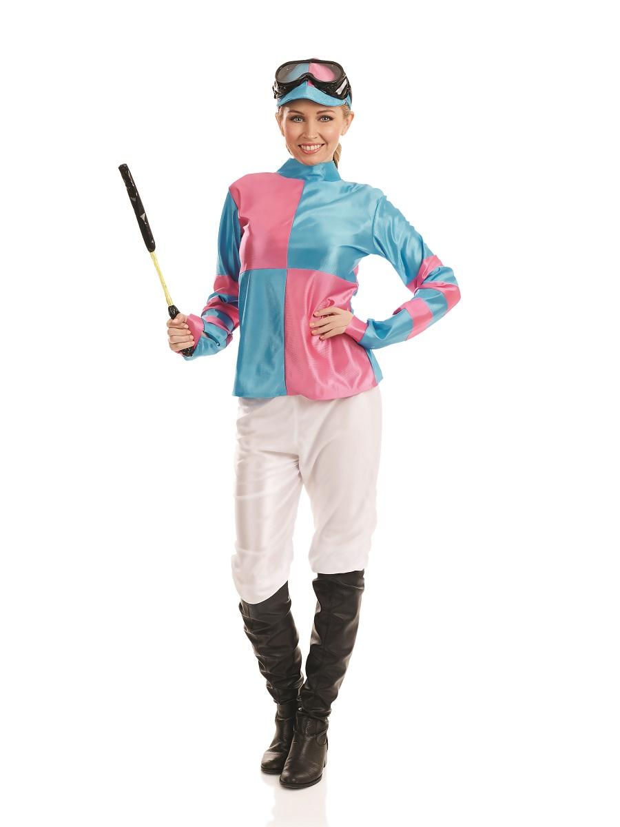 Adult Jockey Girl Costume Fs3984 Fancy Dress Ball