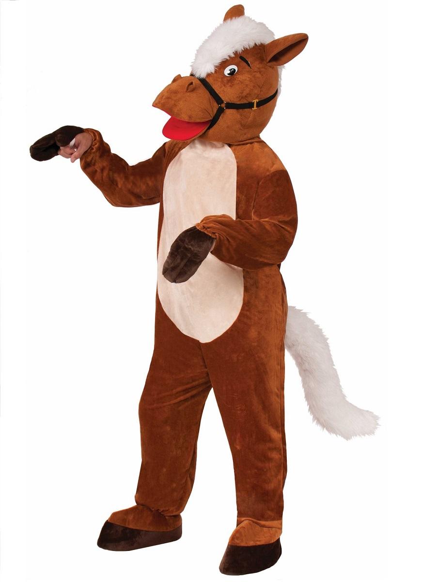 Adult Horse Henry Mascot Costume 72866 Fancy Dress Ball