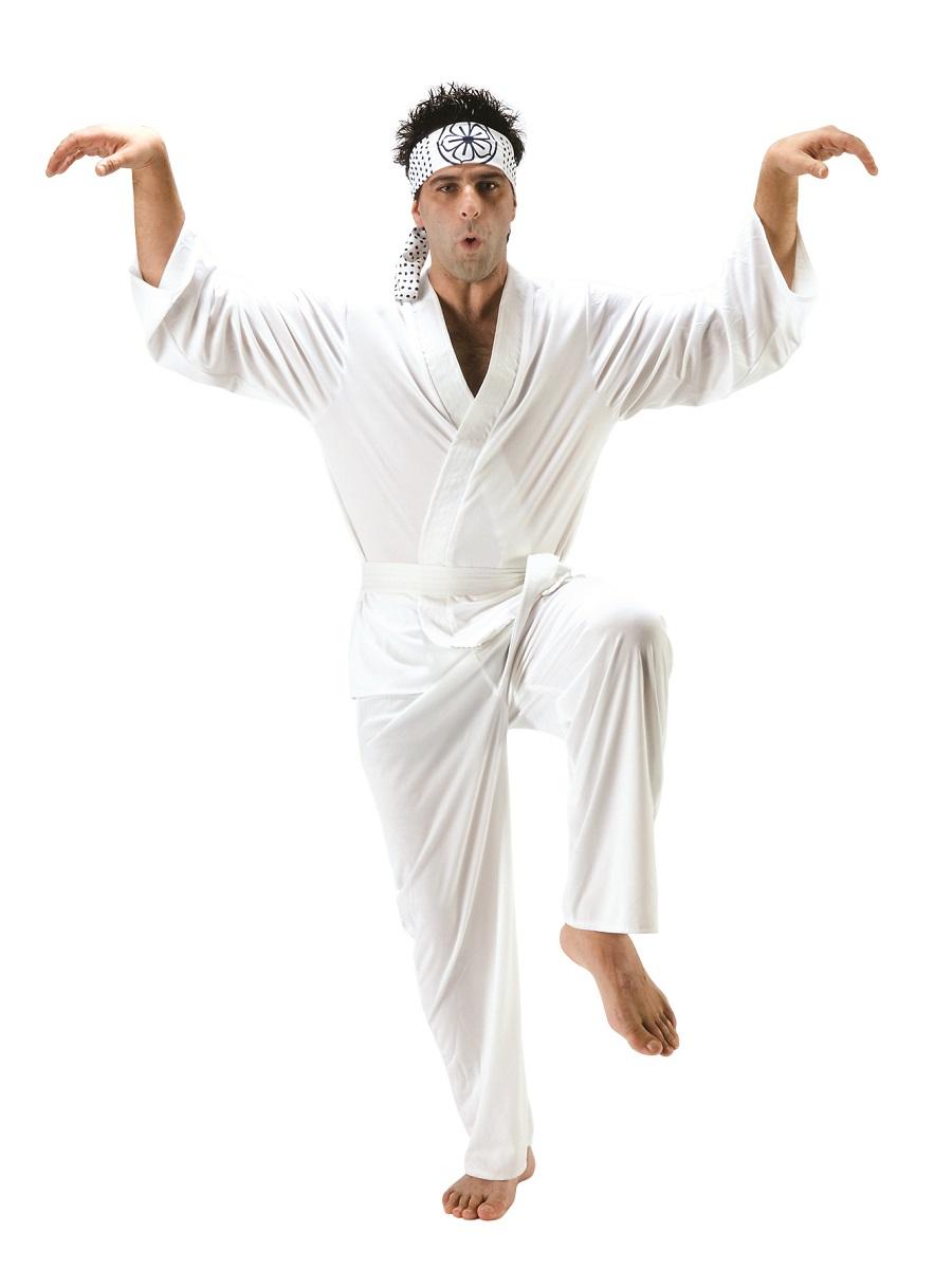 adult karate kid daniel san costume 3173b fancy dress ball