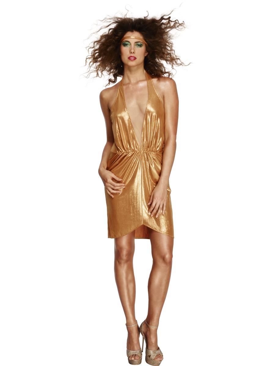 Adult fever 70 39 s disco diva costume 43476 fancy dress ball for Diva attire