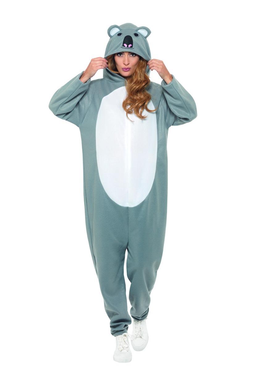 3d09f66067f0 Adult Koala Onesie Costume - 47222 - Fancy Dress Ball