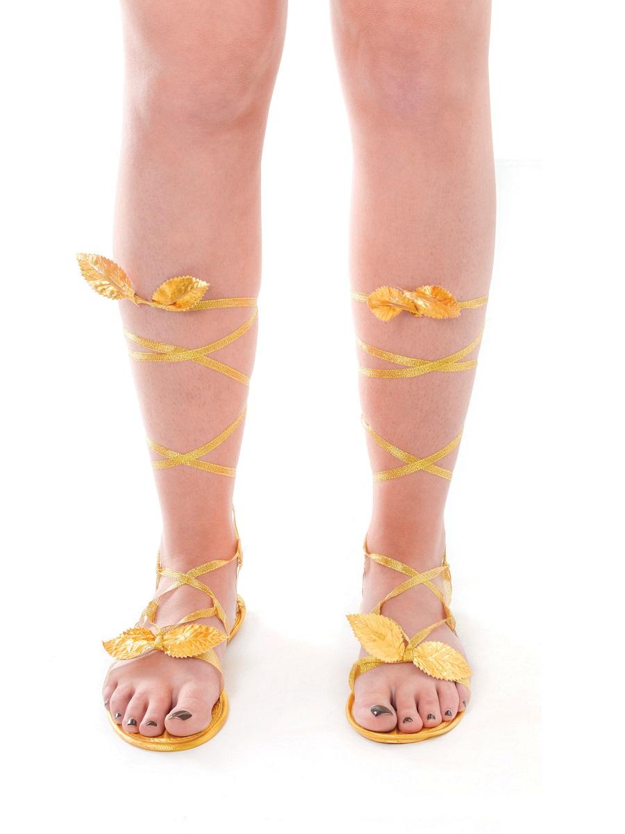 315e0d4fd6cdc Adult Ladies Goddess Sandals - BA803 - Fancy Dress Ball
