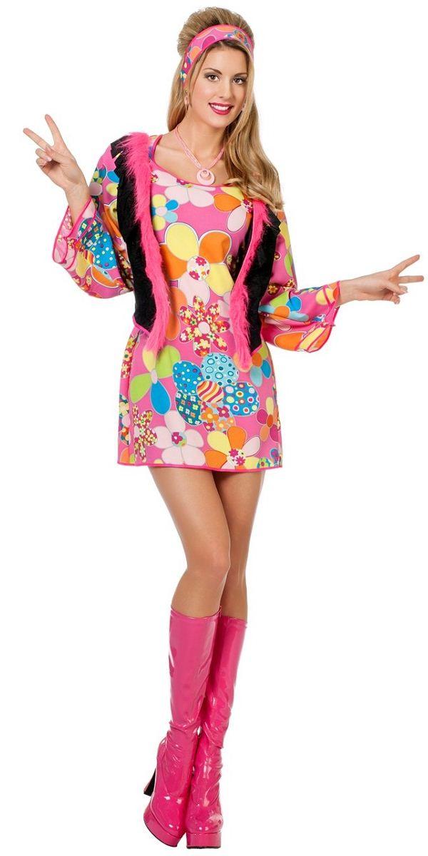 Adult Ladies Hippy Woodstock Costume  sc 1 st  Fancy Dress Ball & Adult Ladies Hippy Woodstock Costume - 4562 - Fancy Dress Ball