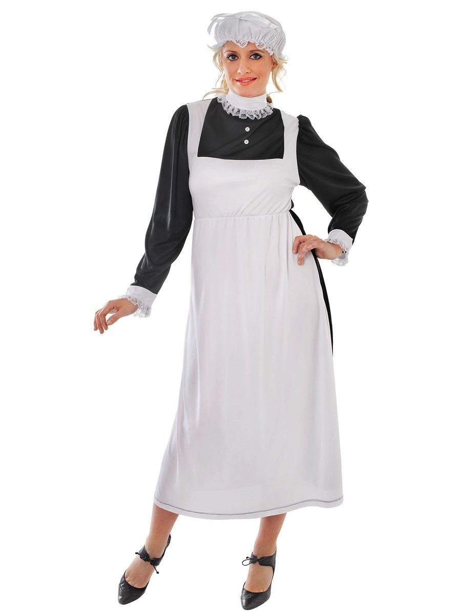 Adult Victorian Maid Costume - AC289 - Fancy Dress Ball