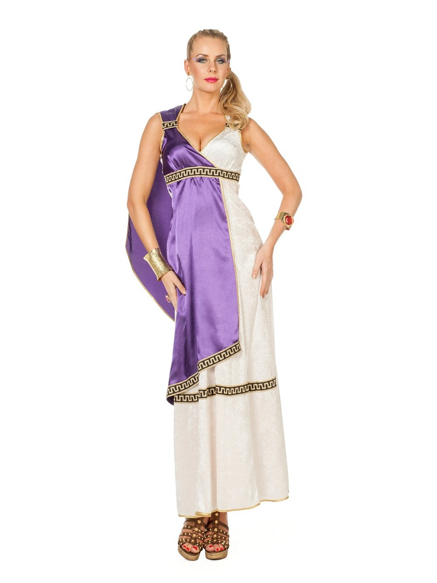 Adult Ladies Roman Livia Costume 4372 Fancy Dress Ball