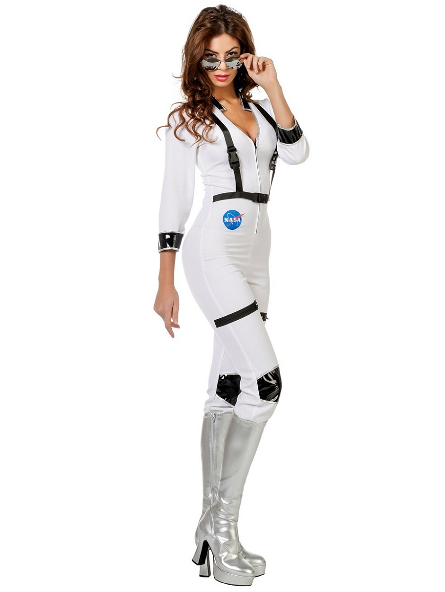 Adult Ladies Sexy Astronaut Costume - 4592 - Fancy Dress Ball