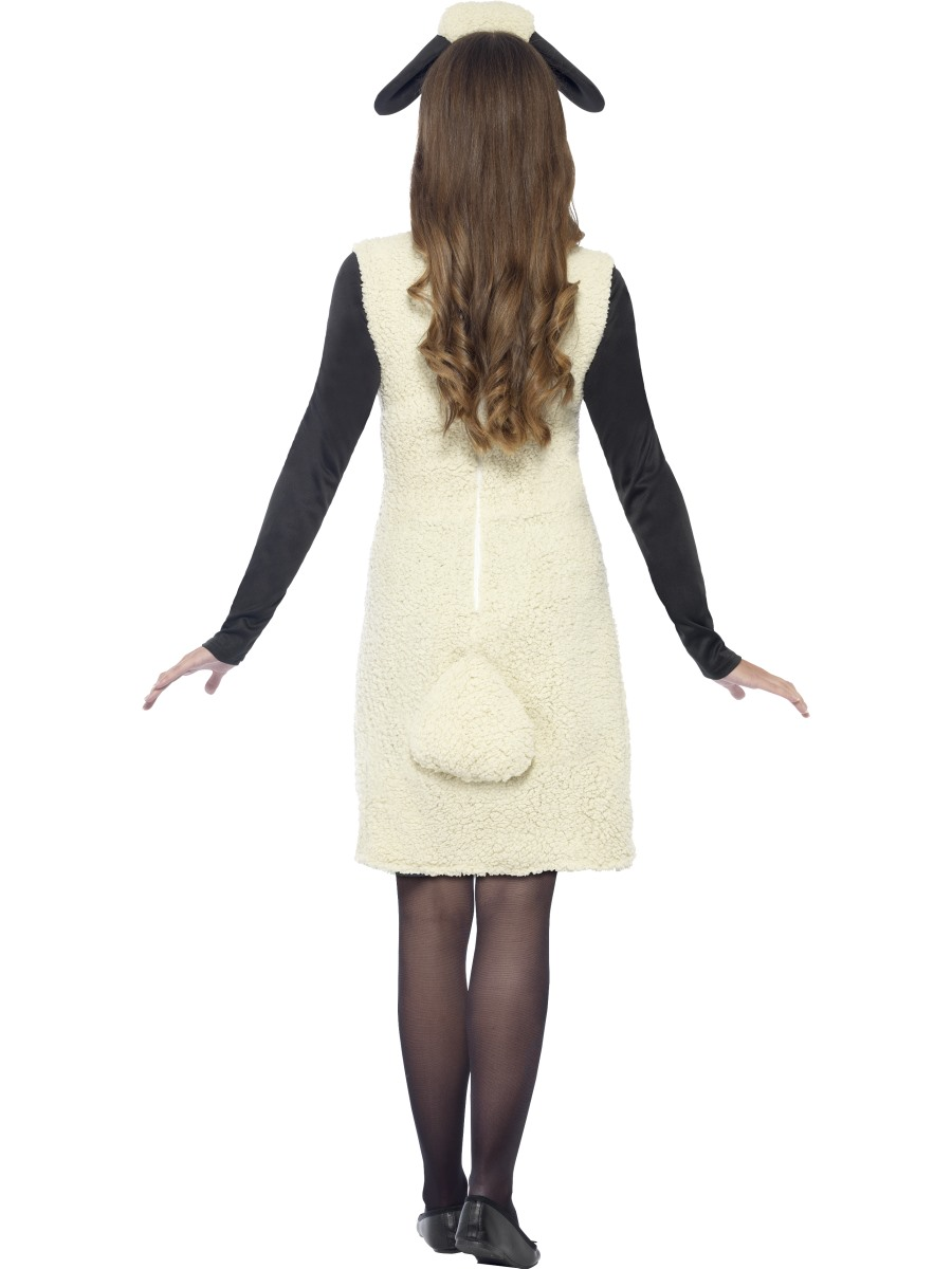 Adult Ladies Shaun the Sheep Costume - Side View · VIEW FULL IMAGE  sc 1 st  Fancy Dress Ball & Adult Ladies Shaun the Sheep Costume - 20605 - Fancy Dress Ball