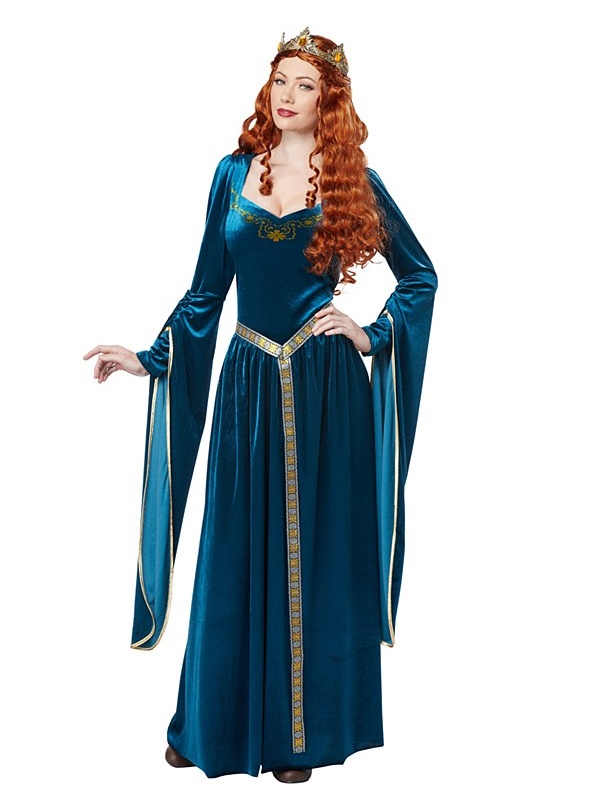 Adult Lady Guinevere Costume - 01380 - Fancy Dress Ball