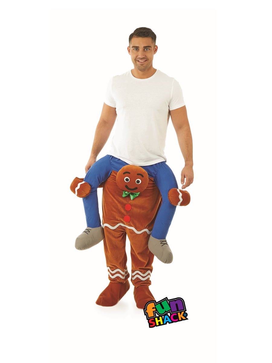 adult gingerbread man costume