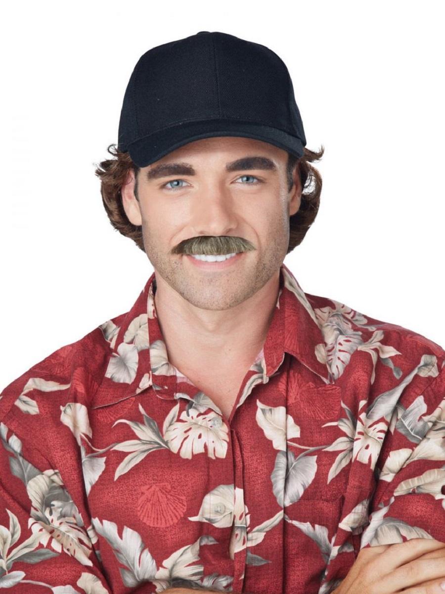 Adult Magnum Moustache 70834 Fancy Dress Ball