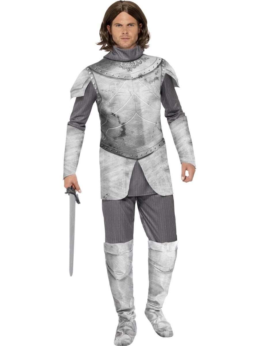 Adult Deluxe Medieval Knight Costume 27892 Fancy Dress