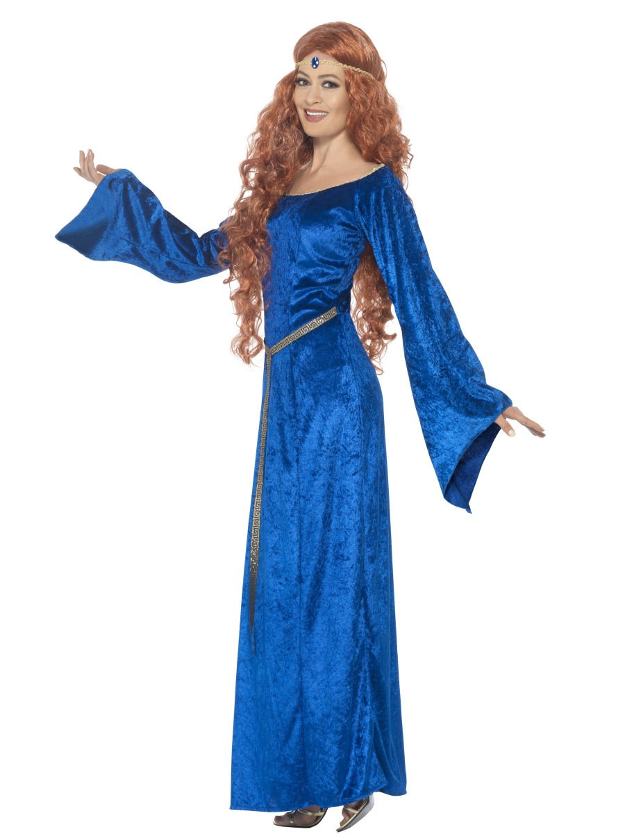 Adult Medieval Maiden Costume 44683 Fancy Dress Ball