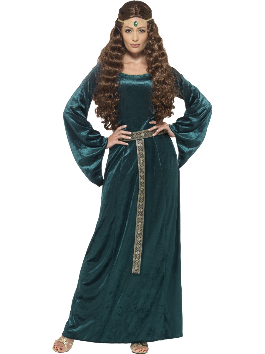 Adult Medieval Maiden Costume - 45497 - Fancy Dress Ball