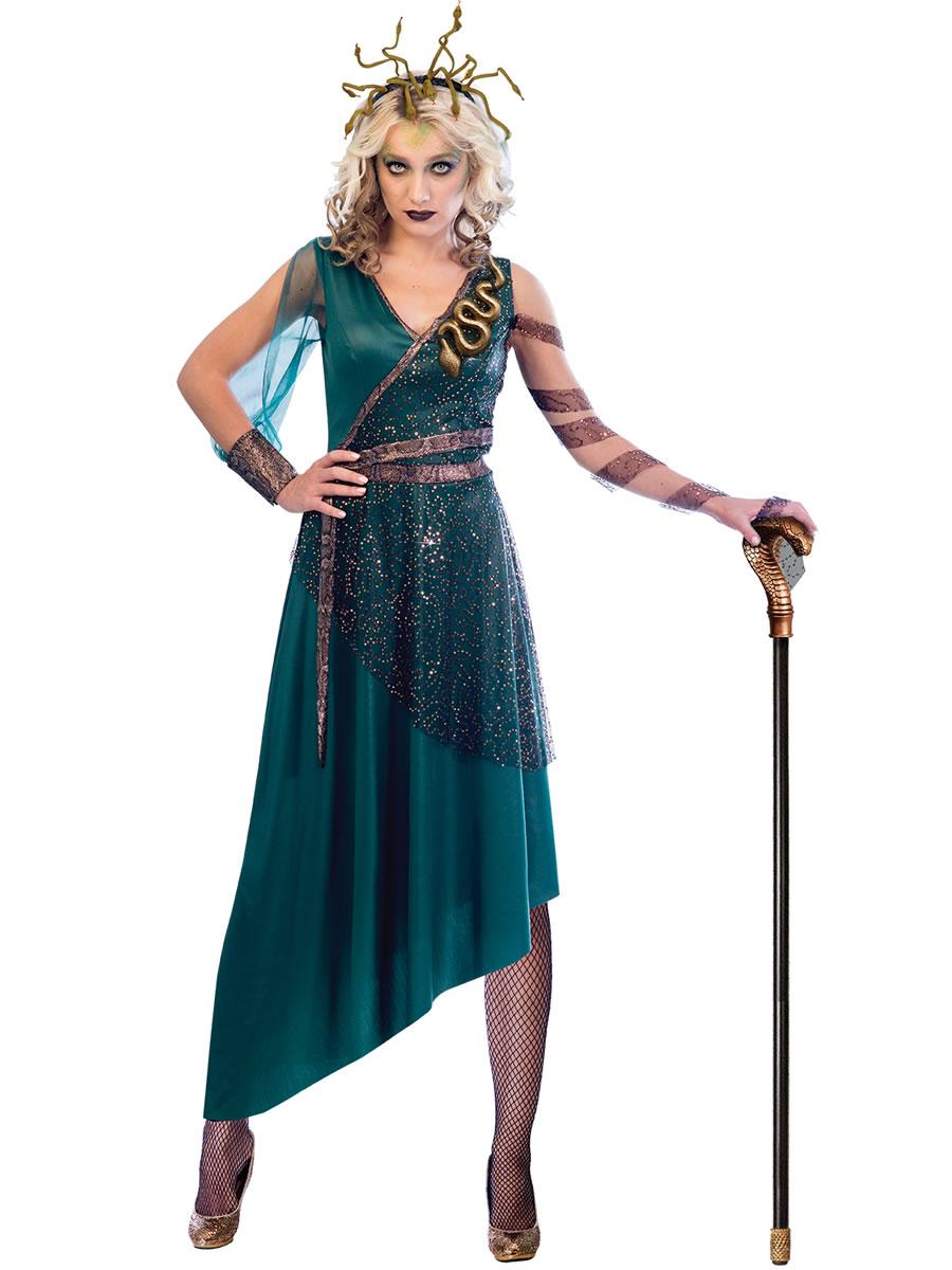 Adult Medusa Costume 9903578 Fancy Dress Ball