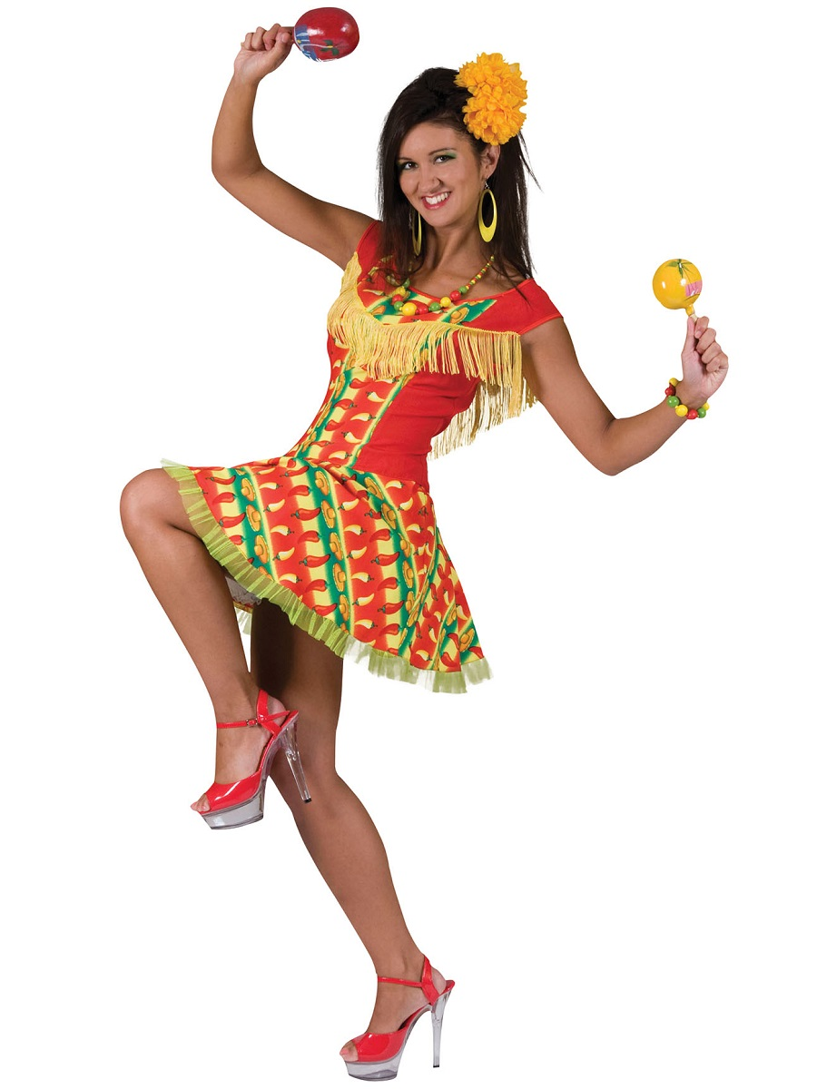 Girl Mexican Costume Adult Mexican Lady Costume