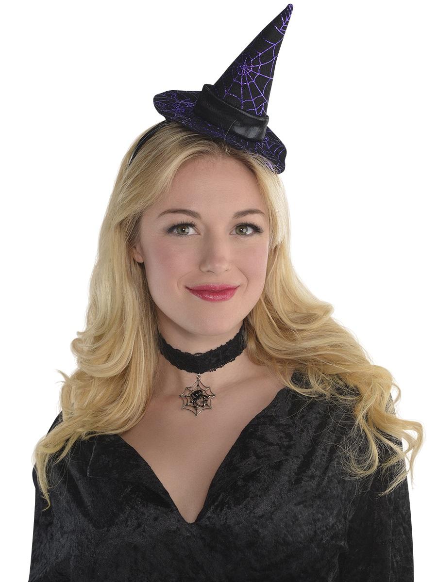 Adult Mini Witch Hat Headband - 846166-55 - Fancy Dress Ball 2b1f66b8918