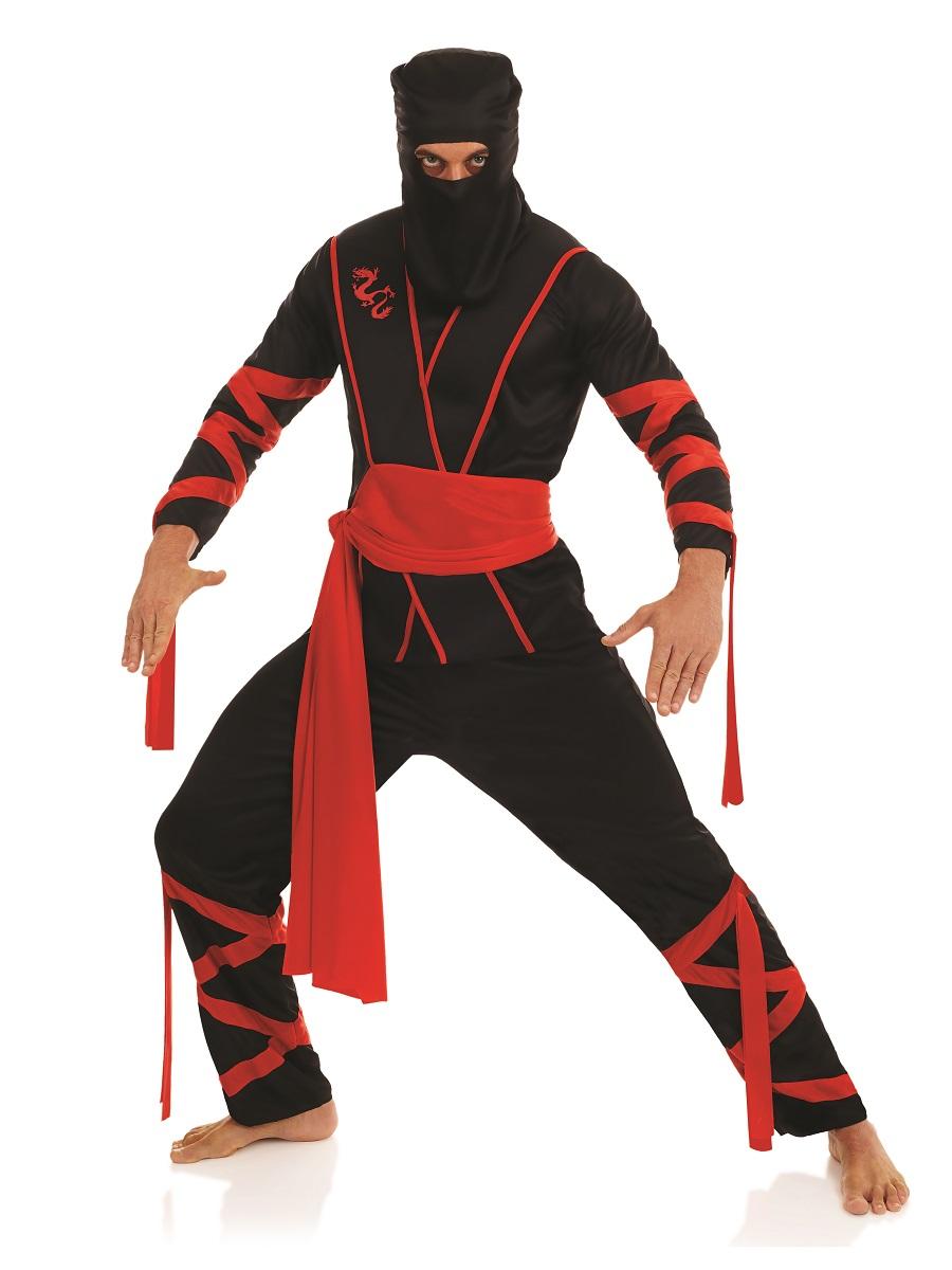 Adult Ninja Costume Fs4196 Fancy Dress Ball
