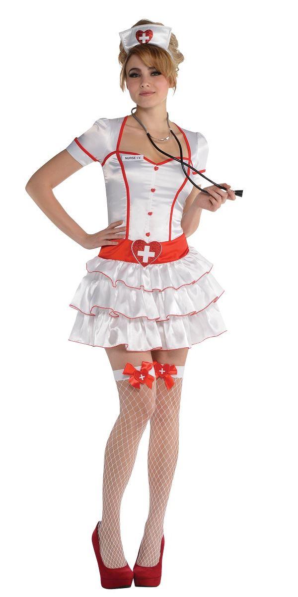 Adult Nurse Iv Costume 844626 55 Fancy Dress Ball