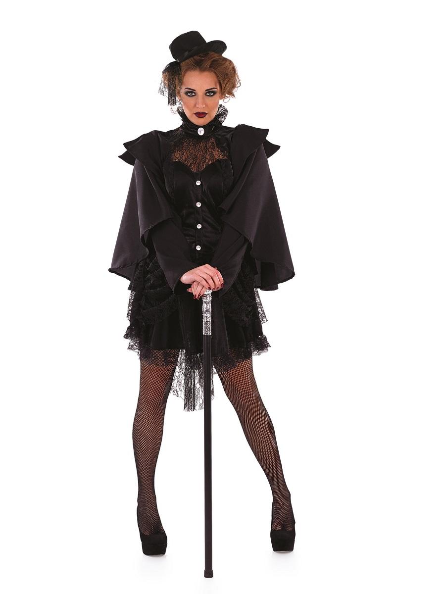 Adult Victorian Widow Costume Fs3798 Fancy Dress Ball