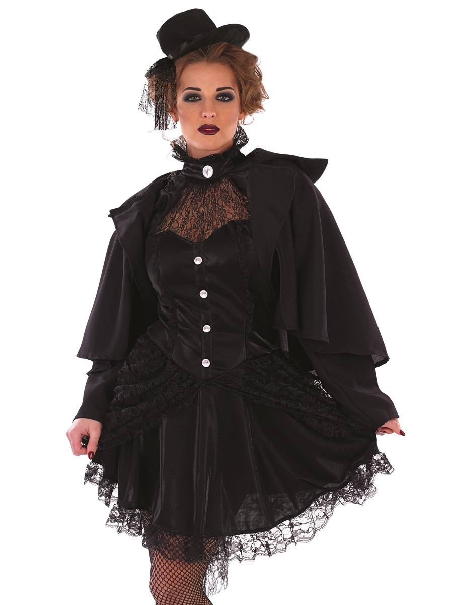 Adult Victorian Widow Costume - FS3798 - Fancy Dress Ball