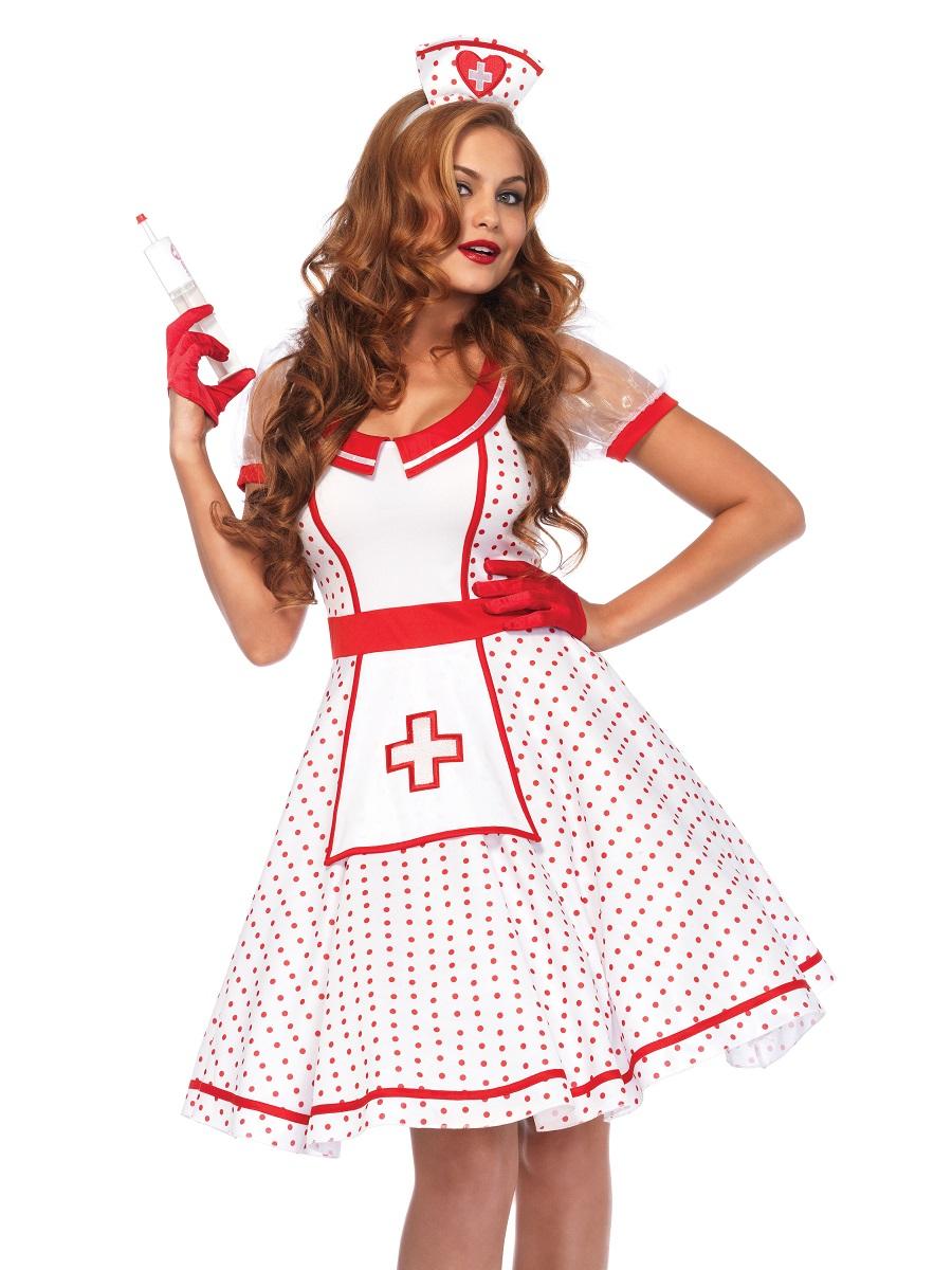 adult nurse nikkibedside betty costume  85532  fancy