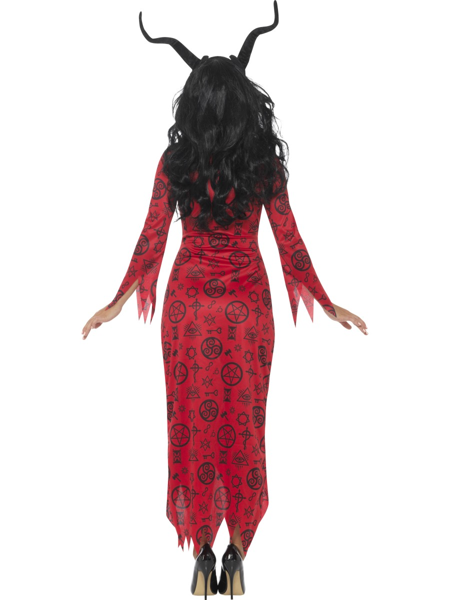 Adult Occult Devil Costume 45119 Fancy Dress Ball
