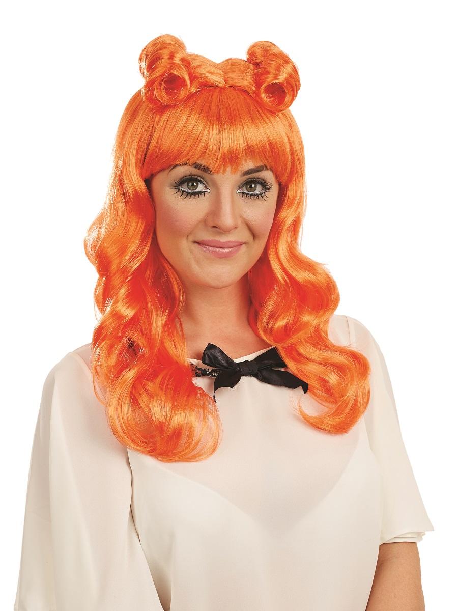 Orange Cosplay Wigs 28