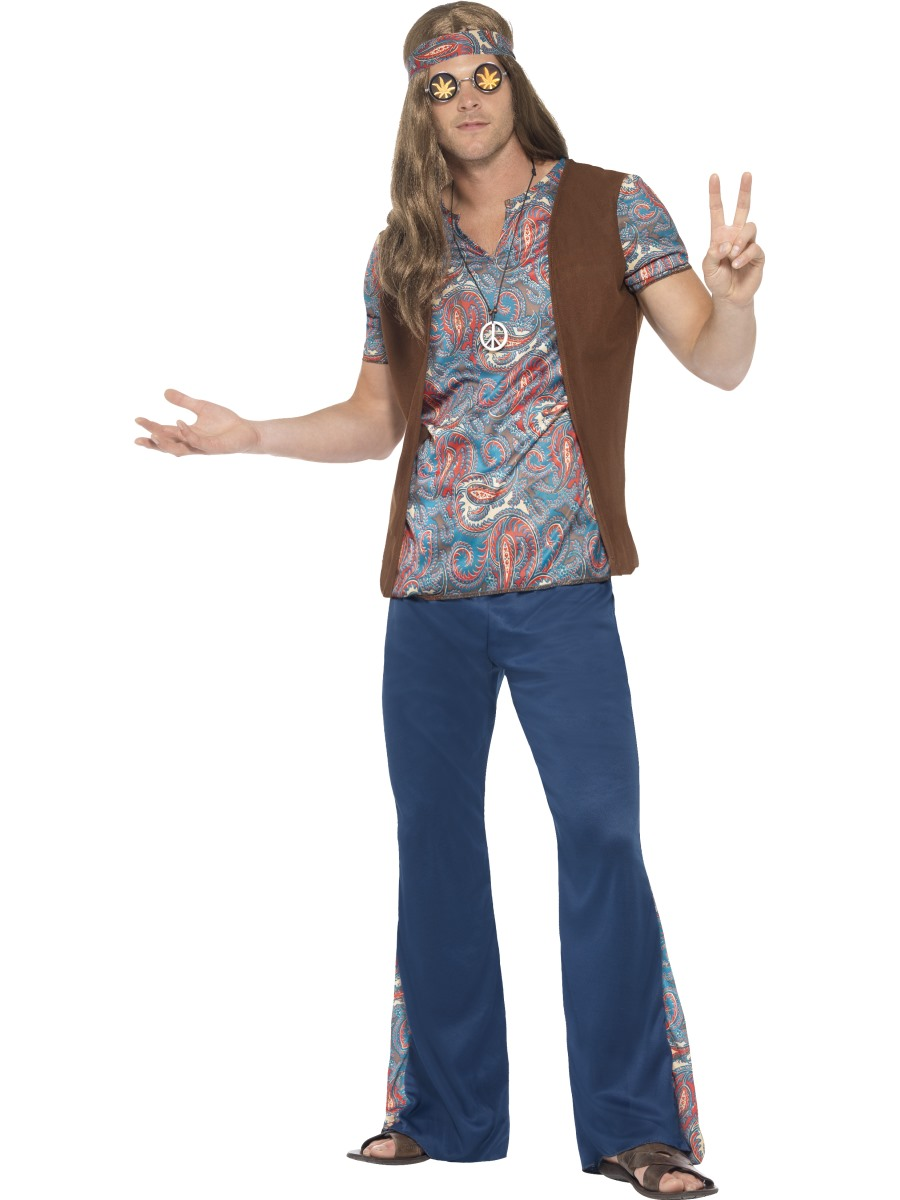 Adult Orion the Hippie Costume - 45517 - Fancy Dress Ball