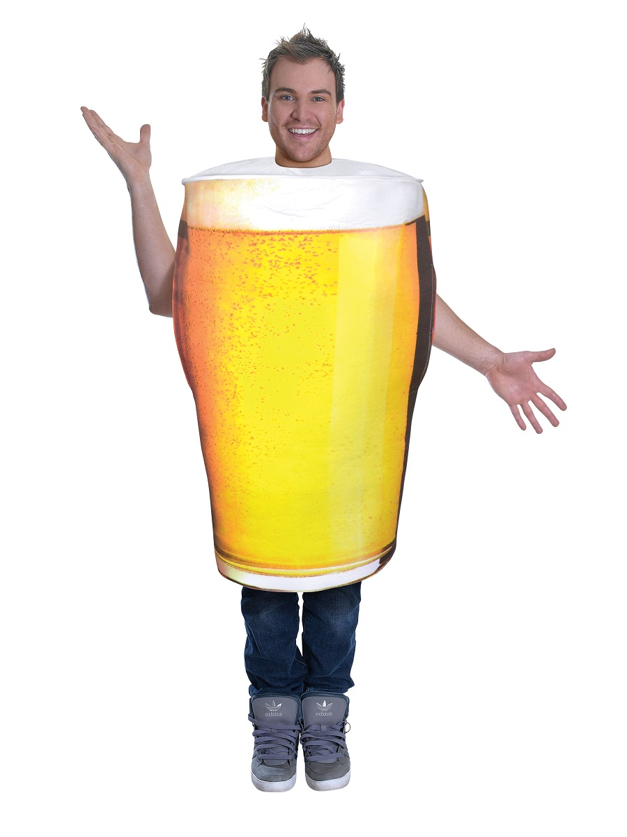 Adult Pint Of Beer Costume AC779 Fancy Dress Ball