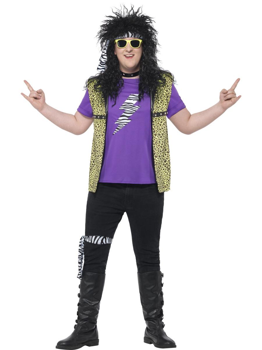 adult plus size 80s rock star costume  44649  fancy