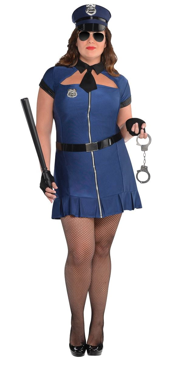 6d7846722c2 Adult Plus Size Bad Cop Costume - 844596-55 - Fancy Dress Ball