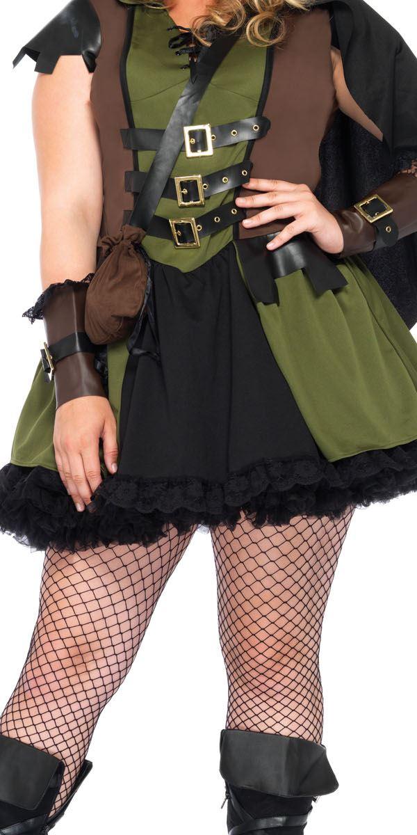 9230cda3f14 Adult Plus Size Darling Robin Hood Costume - 85281X - Fancy Dress Ball
