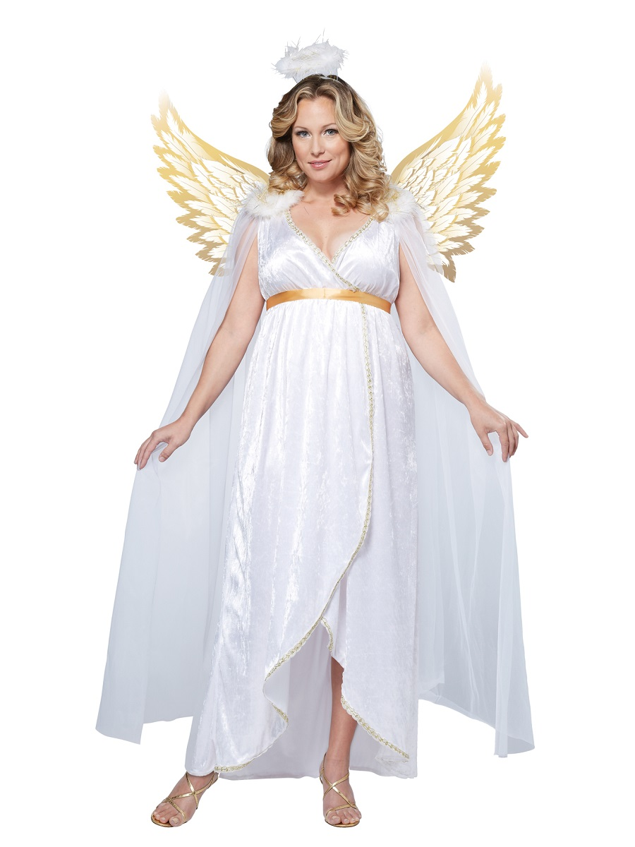 Adult Plus Size Guardian Angel Costume  sc 1 st  Fancy Dress Ball & Womens Christmas Fancy Dress | Fancy Dress Ball
