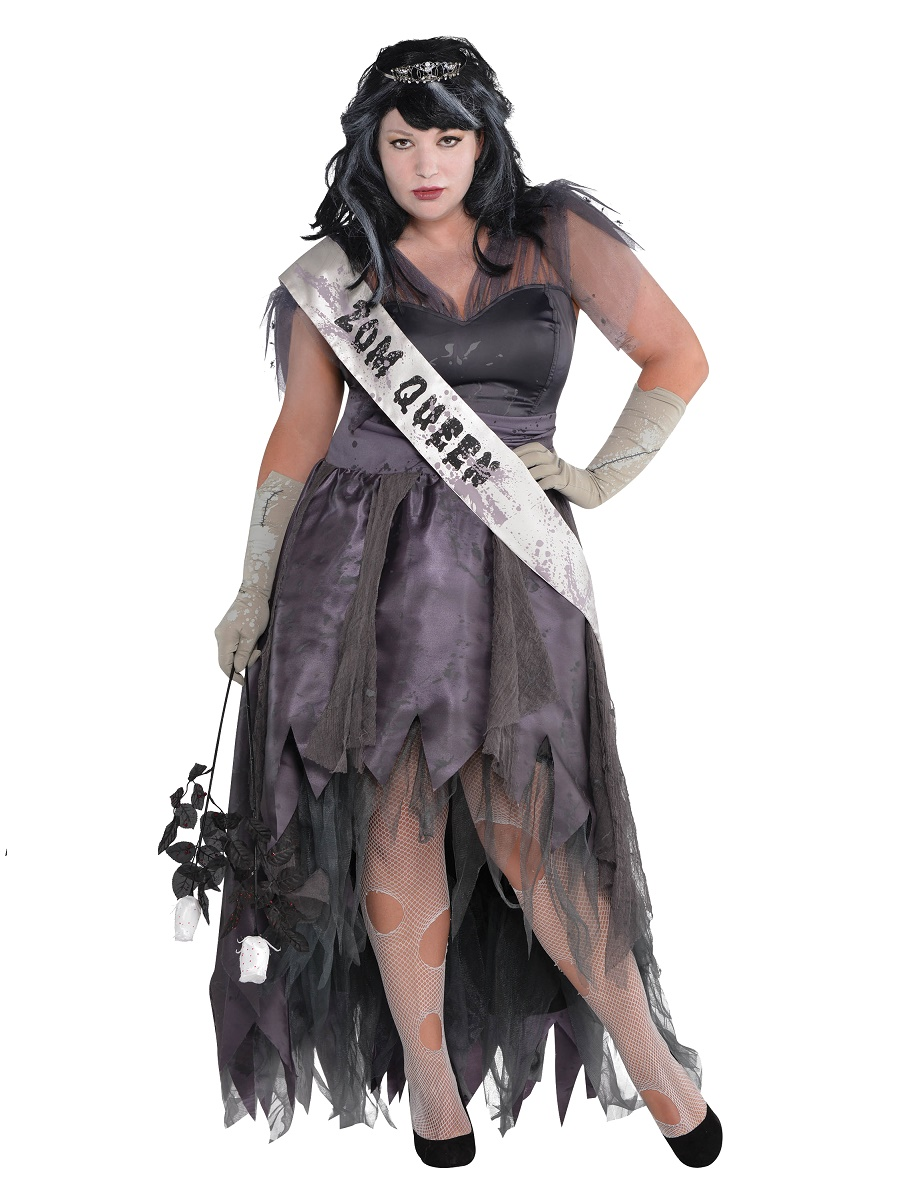 adult plus size homecoming corpse costume