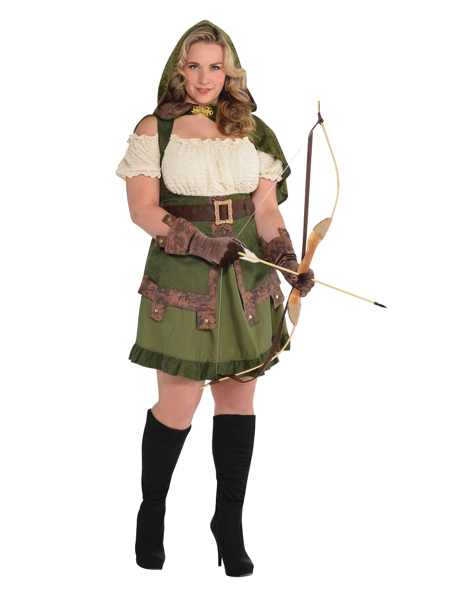 Adult Plus Size Robin Hoodie Costume  sc 1 st  Fancy Dress Ball & Adult Plus Size Robin Hoodie Costume - 847031-55 - Fancy Dress Ball