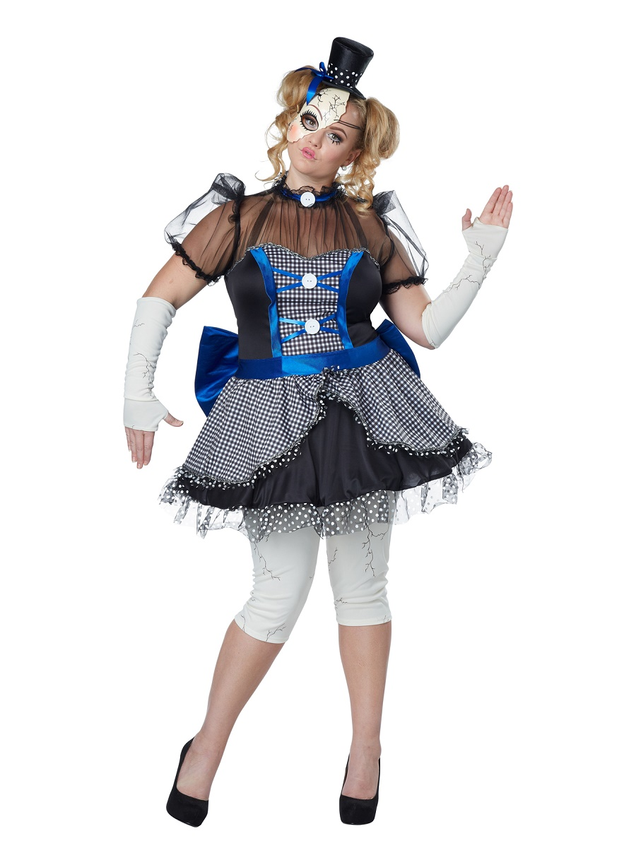 adult plus size twisted baby doll costume