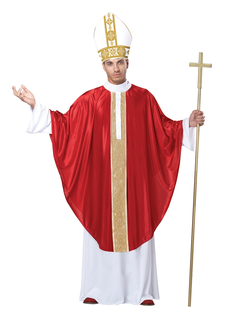Adult Pope Costume 01369 Fancy Dress Ball