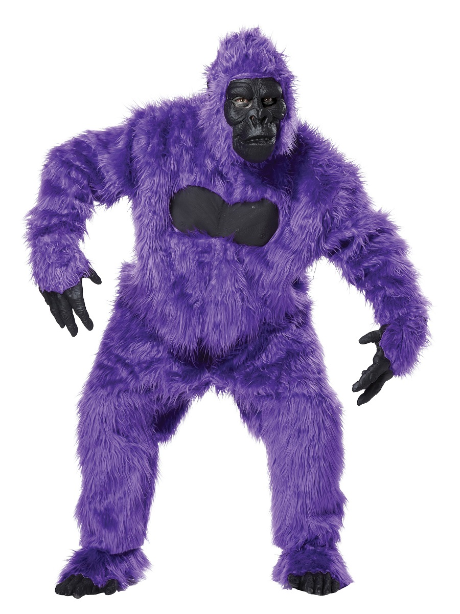 Purple Gorilla Costume Adult Purple Gorilla Costume