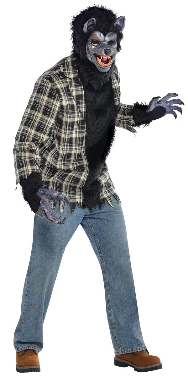Adult Rabid Werewolf Costume  sc 1 st  Fancy Dress Ball & Werewolf Costume Werewolf Fancy Dress Monster Fancy Dress Monster ...