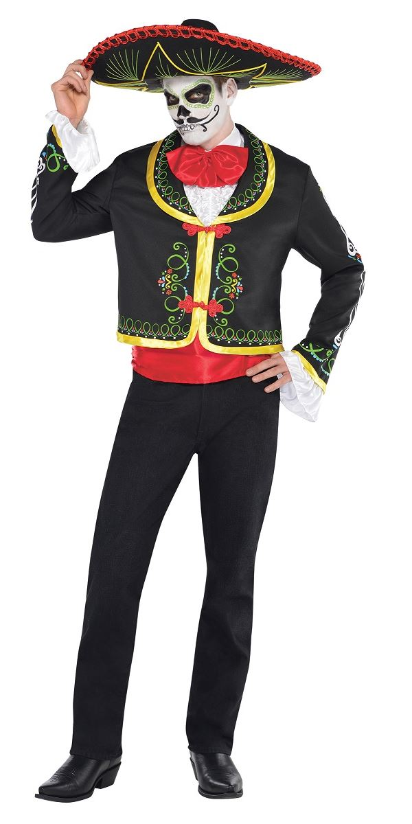 Day Of The Dead Halloween Costumes Fancy Dress Ball