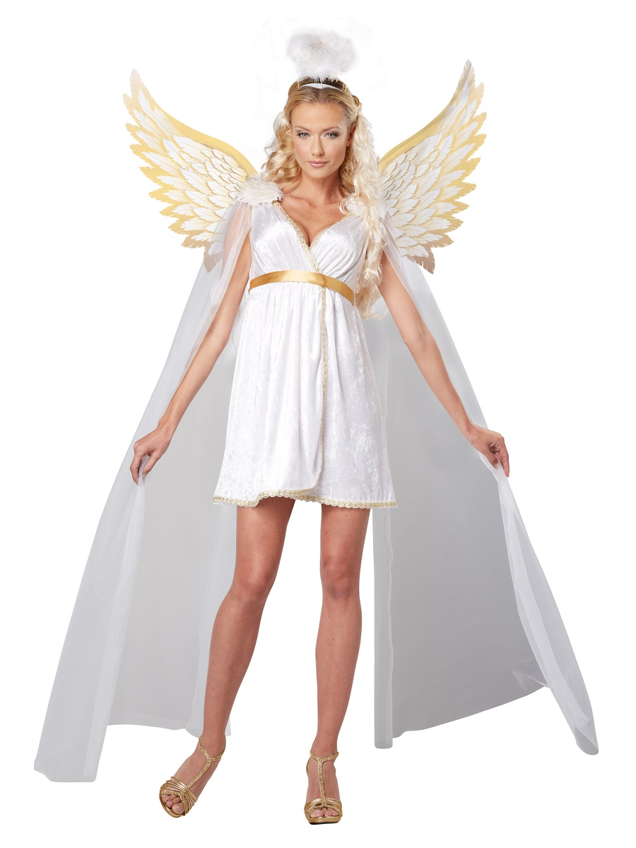 Adult radiant angel costume  fancy dress ball