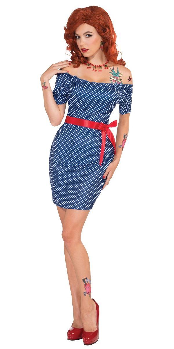 Adult 1950s Retro Betty Costume Ac536 Fancy Dress Ball