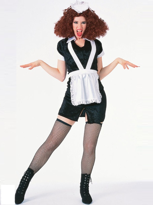 Adult Rocky Horror Magenta Costume Ac303 Fancy Dress Ball