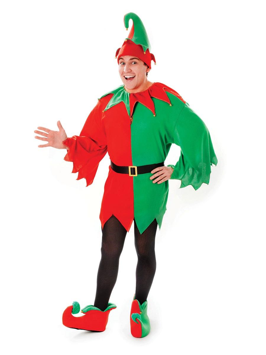 Adult Santa S Helper Costume Ac861 Fancy Dress Ball