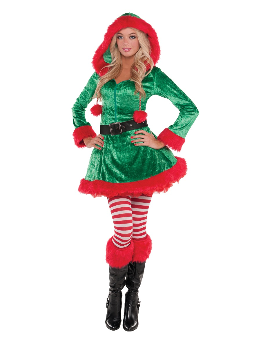 Adult Sassy Sexy Elf Costume  sc 1 st  Fancy Dress Ball & Adult Sassy Sexy Elf Costume - 848871-55 - Fancy Dress Ball