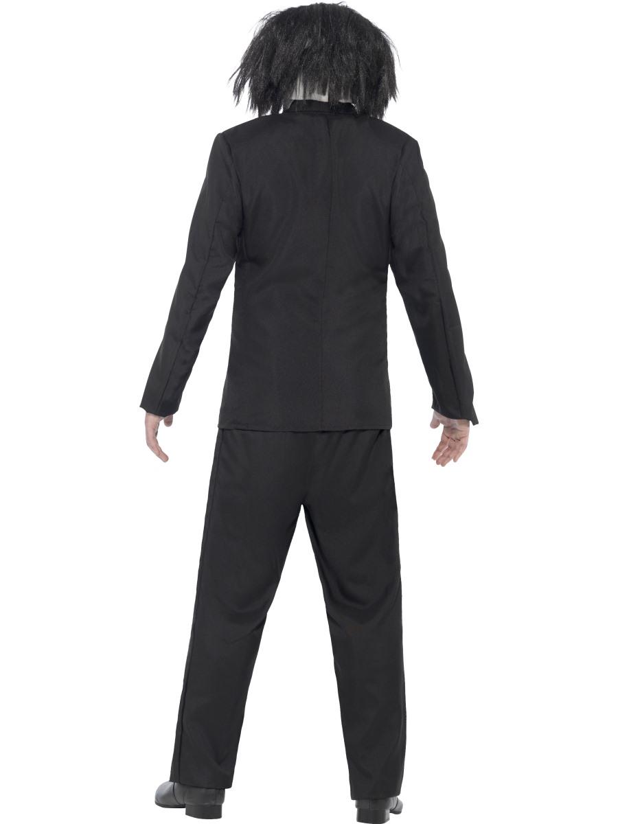 Elegant  Official Saw Movie Jigsaw Puppet Halloween Fancy Dress Horror Costume