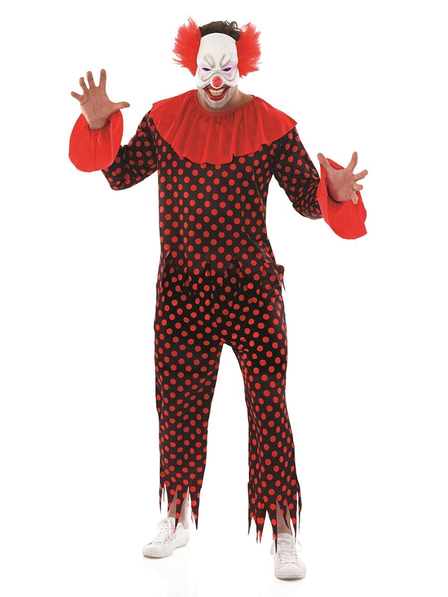 adult scary clown costume fs3946 fancy dress ball