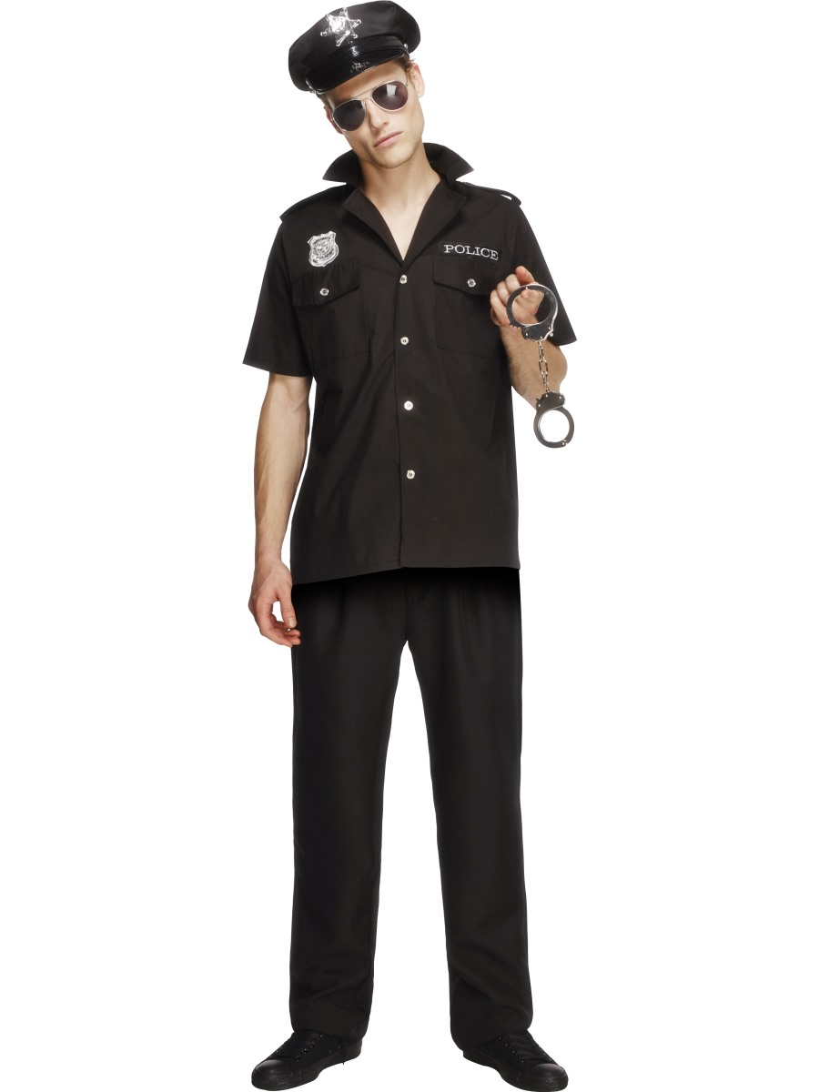 Adult Fever Sexy Cop Costume 31876 Fancy Dress Ball