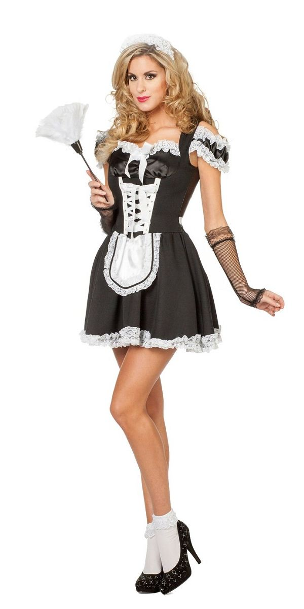 Adult Sexy Maid Costume 4513 Fancy Dress Ball