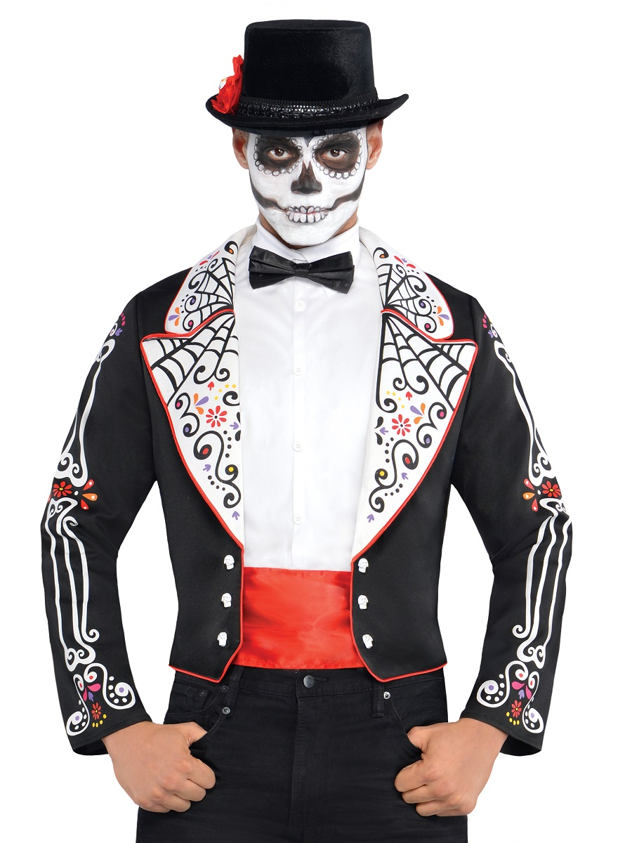 Adult Day Of The Dead Senor Tailcoat Jacket 843933 55 Fancy